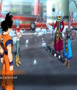Whis and Lord Beerus arrive  Dragon Ball FighterZ Nintendo Switch Xbox One PS4