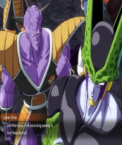 Captain Ginyu and cell dragon Ball FighterZ Nintendo Switch Xbox One PS4
