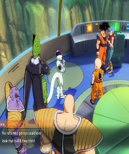 Cell makes friends with Frieza Dragon Ball FighterZ Nintendo Switch Xbox One PS4