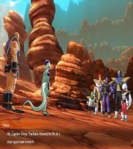 Captain Ginyu reunites with frieza dragon Ball FighterZ Nintendo Switch Xbox One PS4