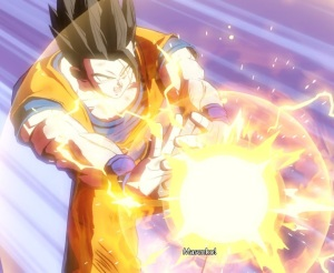 Gohan helps kill Android 21 Dragon Ball FighterZ Nintendo Switch Xbox One PS4