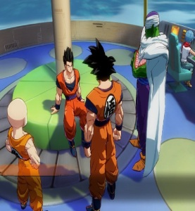 Gohan saved by z fighters Dragon Ball FighterZ Nintendo Switch Xbox One PS4