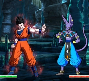Ultimate Gohan vs lord beerus Dragon Ball FighterZ Nintendo Switch Xbox One PS4