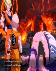 Majin Buu asleep Dragon Ball FighterZ Nintendo Switch Xbox One PS4