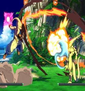 Kid Buu vs Frieza dragon Ball FighterZ Nintendo Switch Xbox One PS4