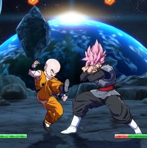 Krillin vs goku Black dragon Ball FighterZ Nintendo Switch Xbox One PS4