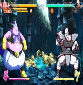Majin Buu vs Nappa Dragon Ball FighterZ Nintendo Switch Xbox One PS4