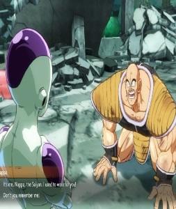 Nappa working for frieza dragon Ball FighterZ Nintendo Switch Xbox One PS4