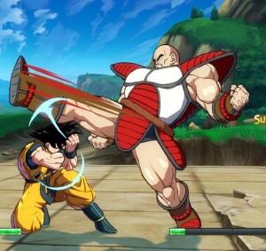 Nappa vs goku dragon Ball FighterZ Nintendo Switch Xbox One PS4