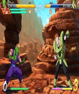 Piccolo vs Android 16 dragon Ball FighterZ Nintendo Switch Xbox One PS4