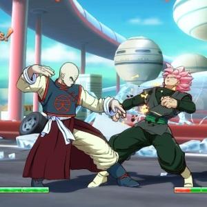 Tien vs Goku Black dragon Ball FighterZ Nintendo Switch Xbox One PS4