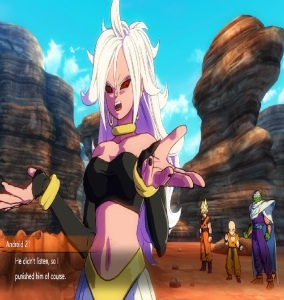 Android 21 vs the Z Fighters dragon Ball FighterZ Nintendo Switch Xbox One PS4