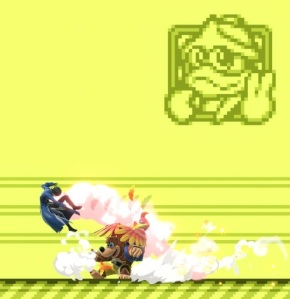 Joker vs banjo and Kazooie Dream Land GB stage super Smash Bros ultimate Nintendo Switch game boy