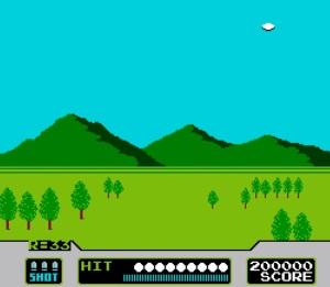 Clay shooting duck hunt NES Nintendo