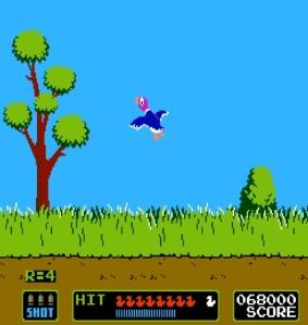 Duck hunting duck hunt NES Nintendo