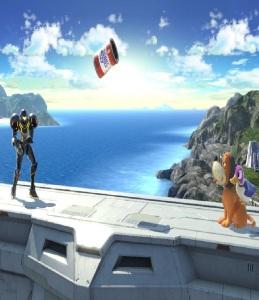 Duck Hunt dog and duck vs Samus aran super Smash Bros ultimate Nintendo Switch