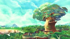 Tall tree The Legend of Zelda: Skyward Sword Wii