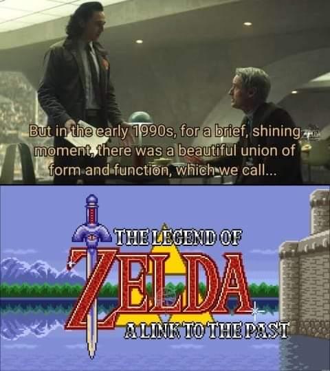 Memes the Legend of Zelda a link to the past super Nintendo