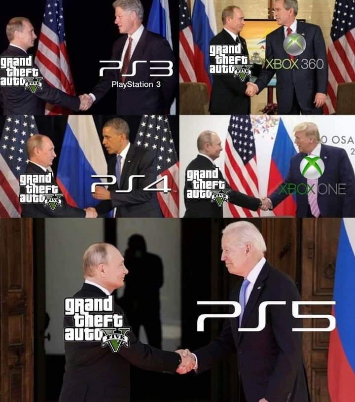 Memes gtav Vladimir Putin