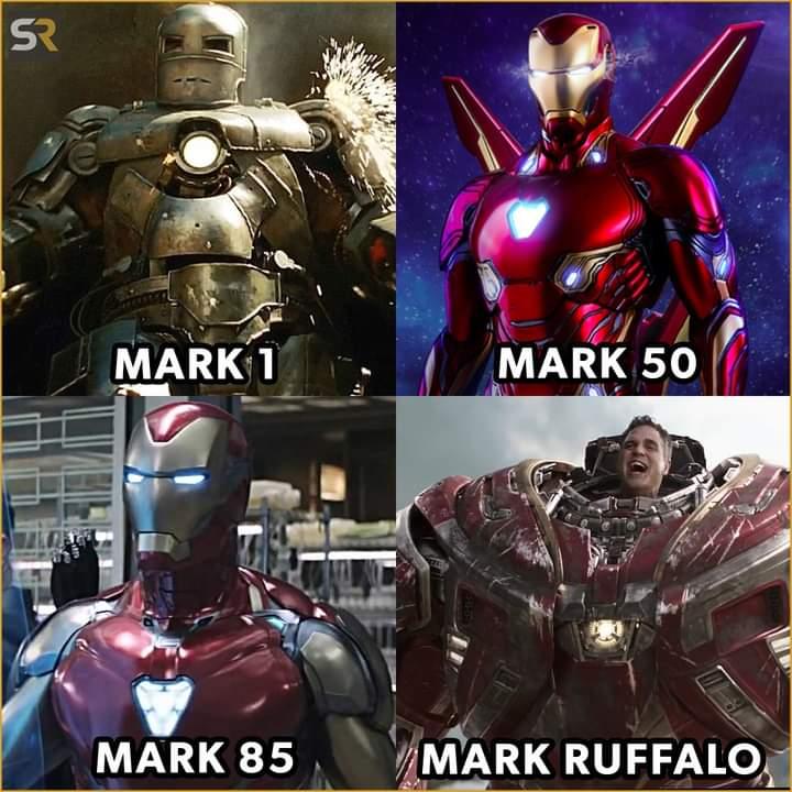 Memes iron man suit version