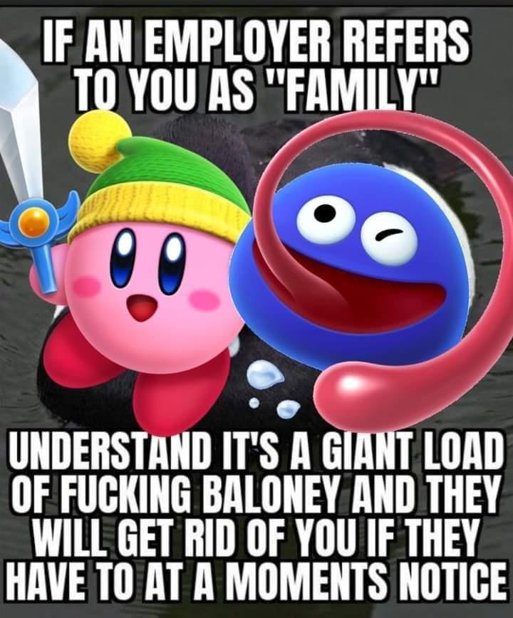 Memes boss calling you family