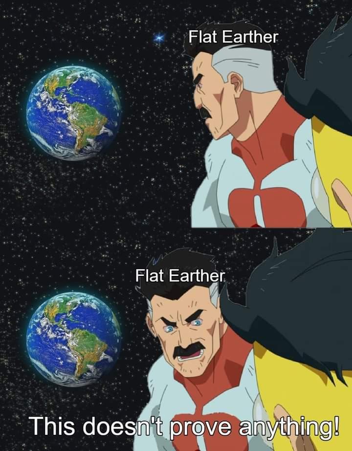 Memes flat earther