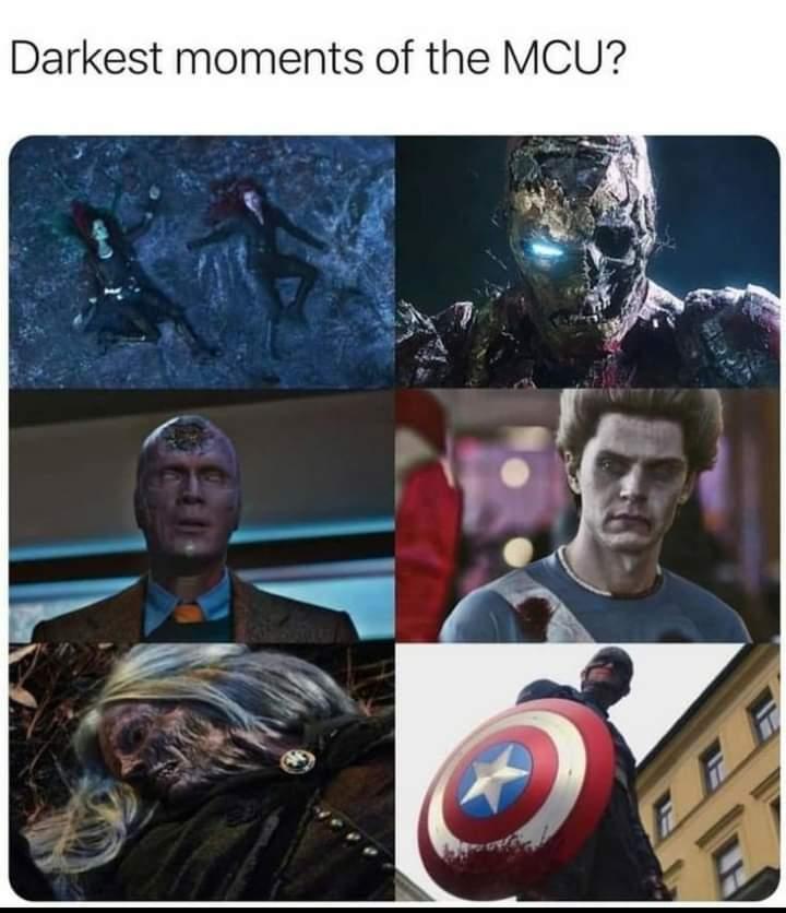 Memes darkest moments of the MCU