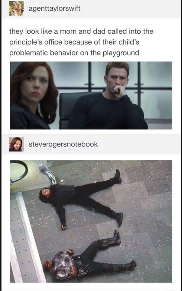 Memes Falcon and the Winter Soldier