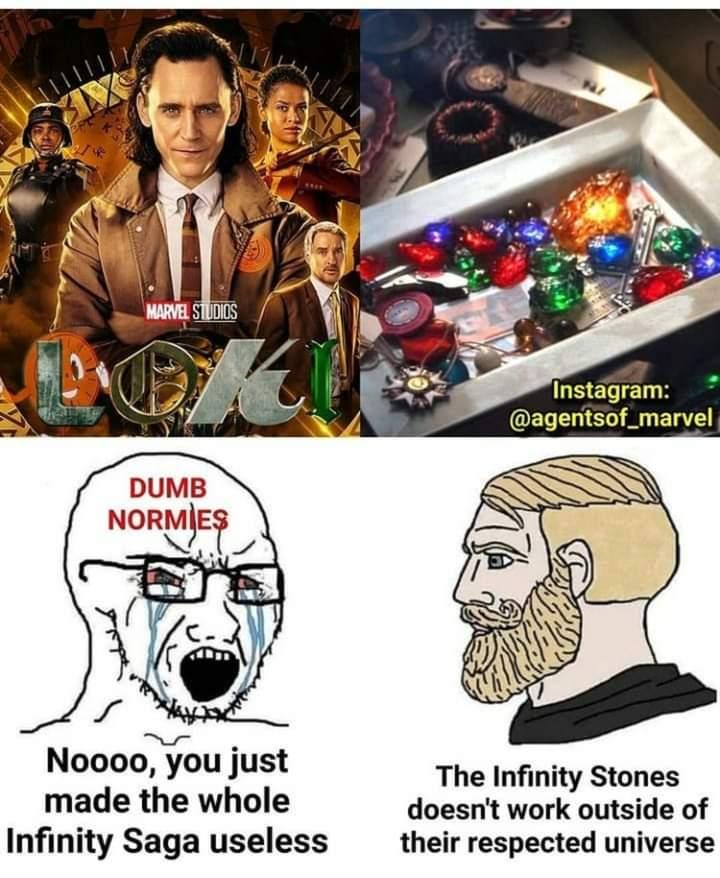 Memes infinity stones