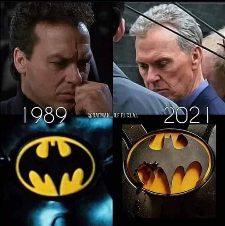 Memes Michael Keaton batman dc