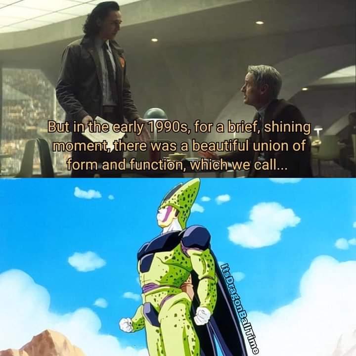 Memes Cell dragon Ball Z