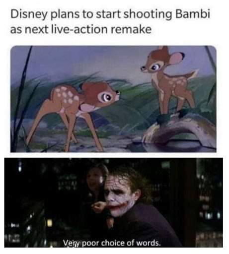 Memes Bambi remake