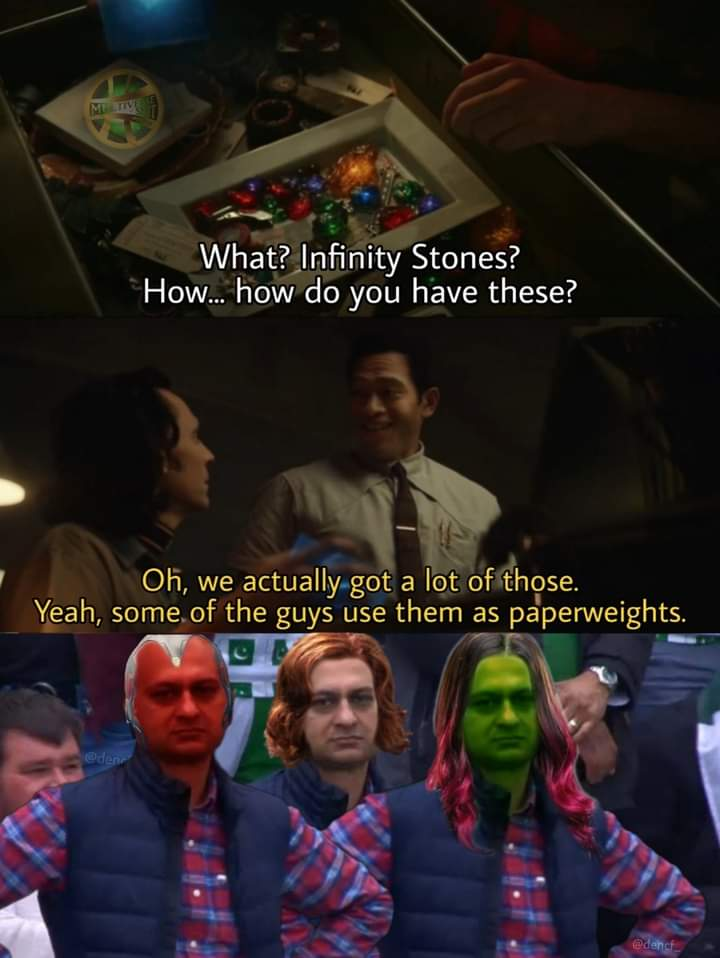 Memes infinity stones loki disney+