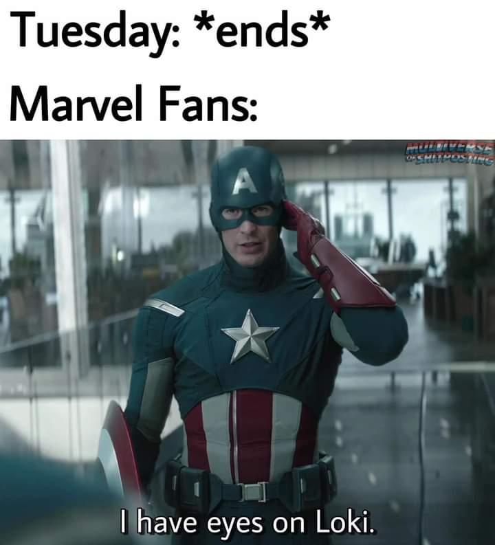 Memes loki Wednesdays