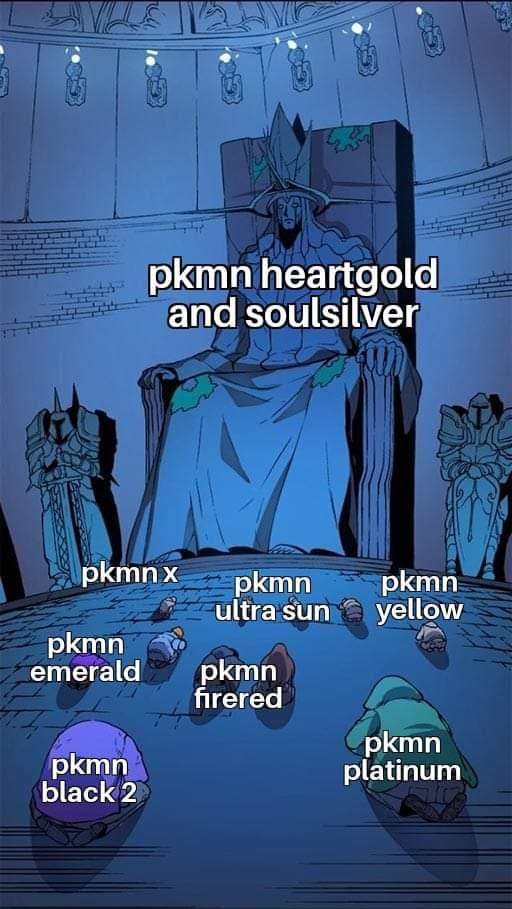 Memes pokemon remakes