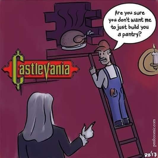 Memes Castlevania turkey