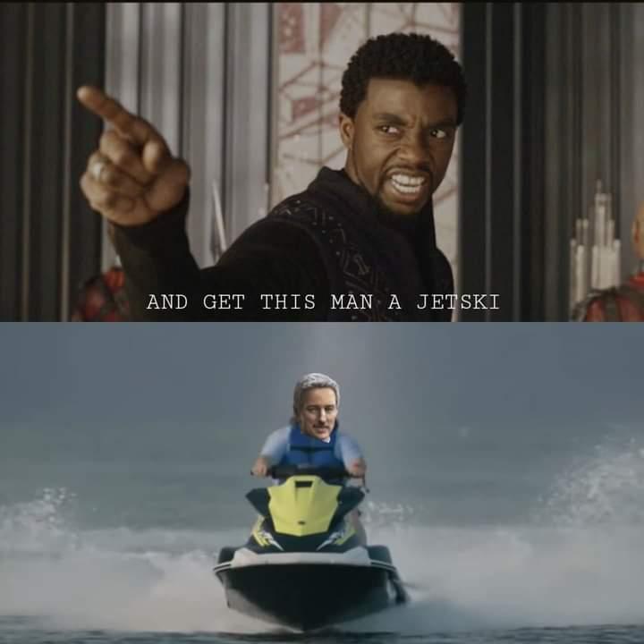Memes mobius jetski