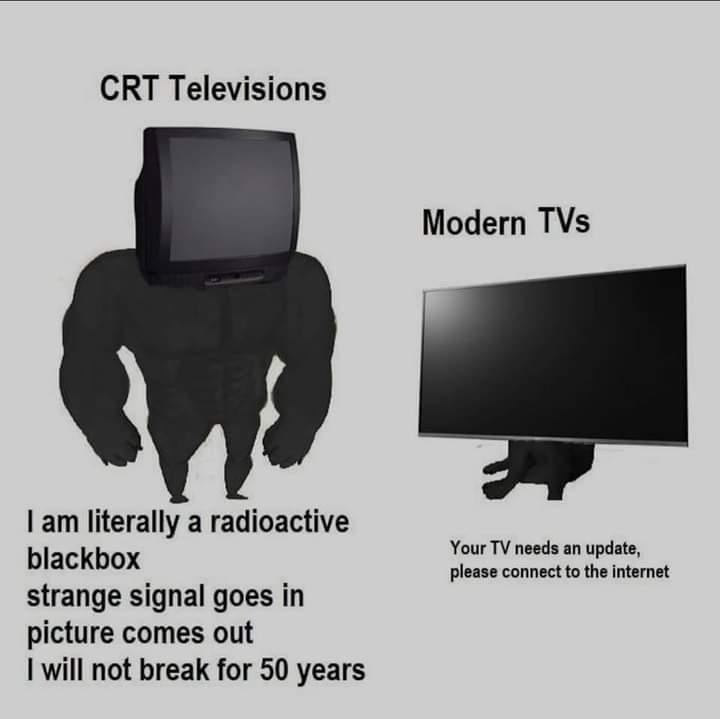 Memes tv needs an update