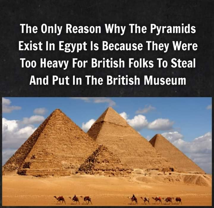 Memes Egyptian pyramids British museum