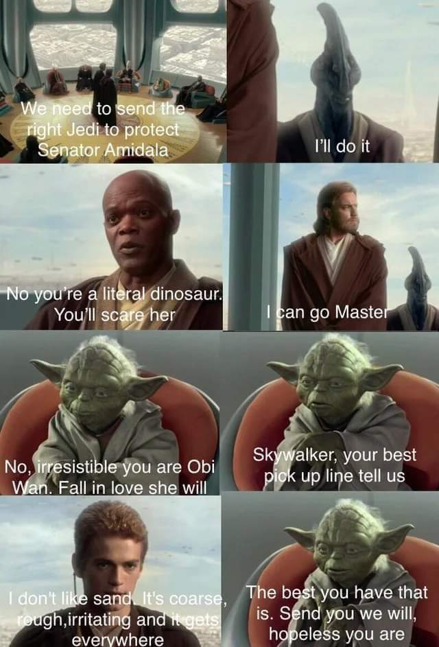 Memes anakin pick up lines star wars