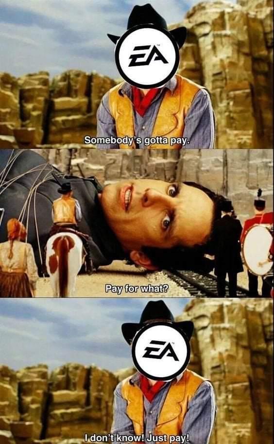 Memes money hungry EA games