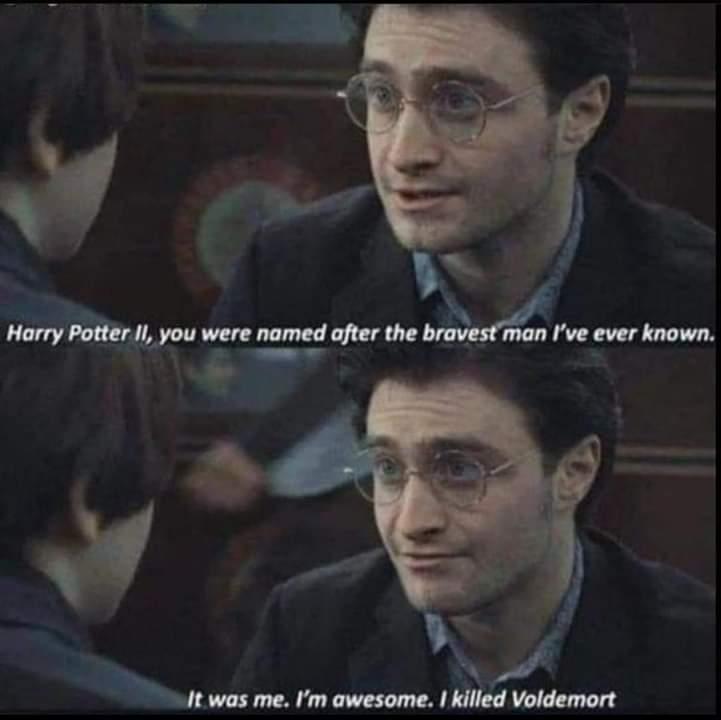 Memes Harry Potter jr