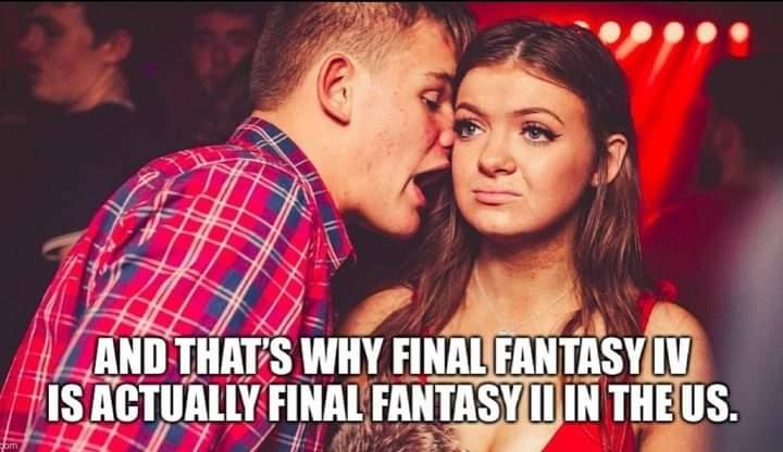 Memes final fantasy nerds