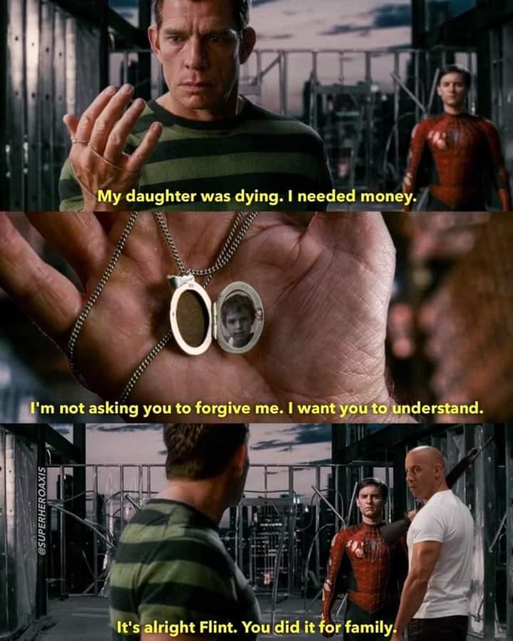 Memes sandman Spider-Man 3