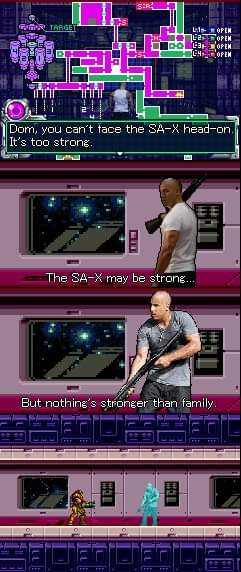 Memes Metroid fusion