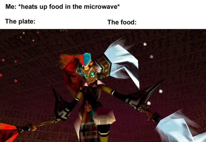 Memes microwave food