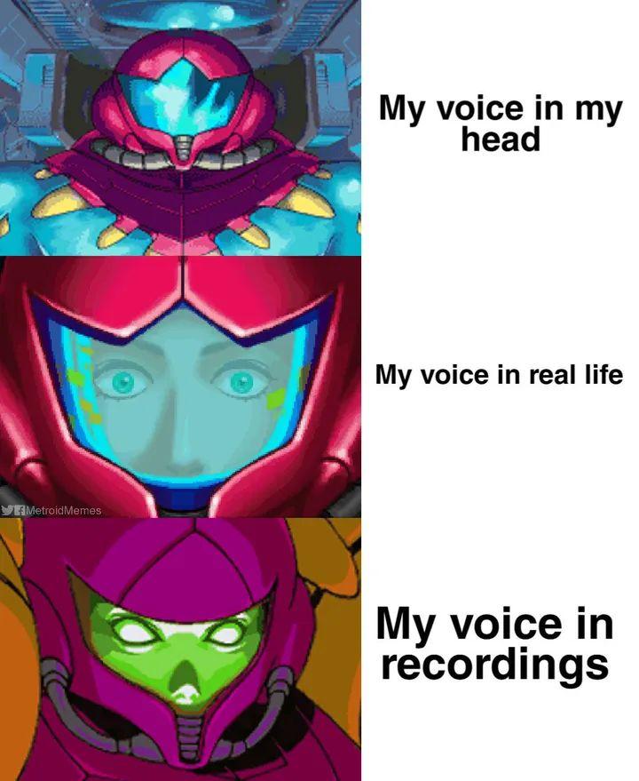 Memes my voice on tape