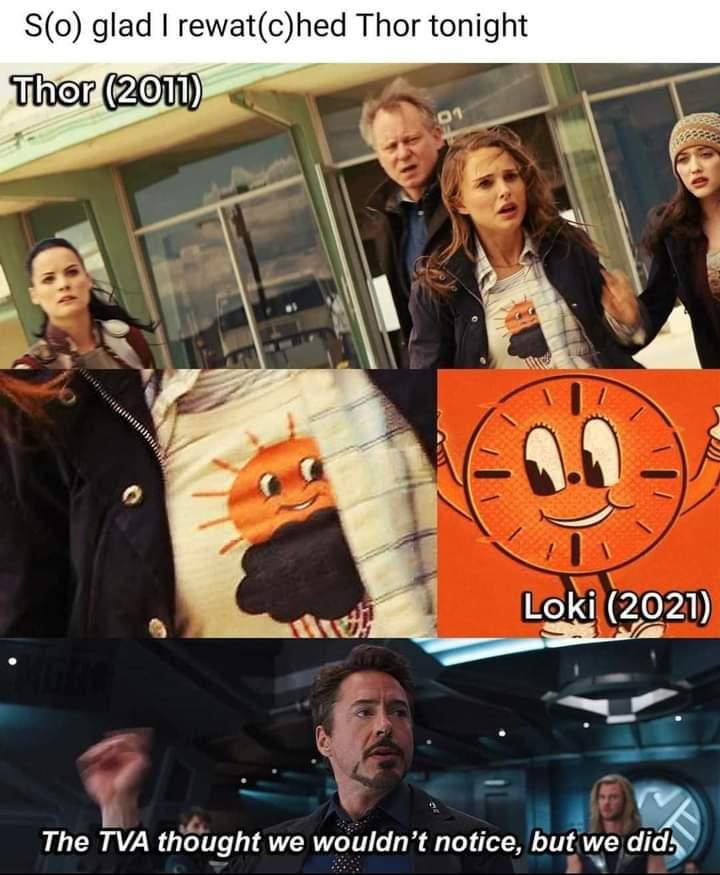 Memes thor 2011 tva miss minutes