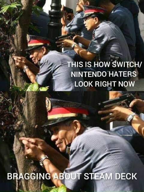 Memes Nintendo Switch vs steam deck