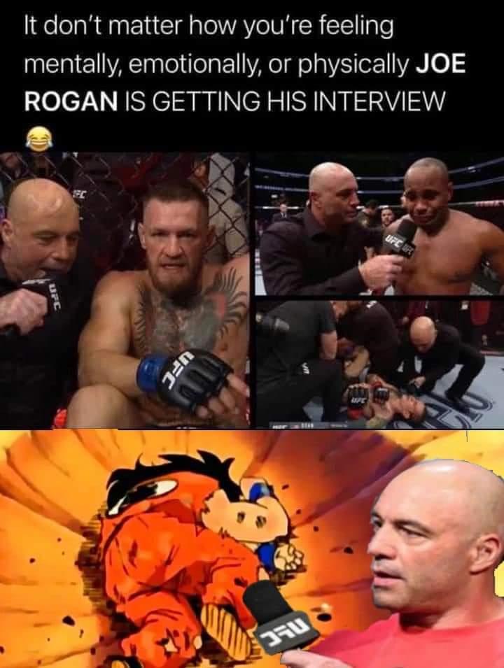 Memes Joe Rogan ufc